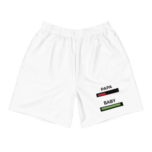 "Herren Shorts ""Papa, baby, akku"""
