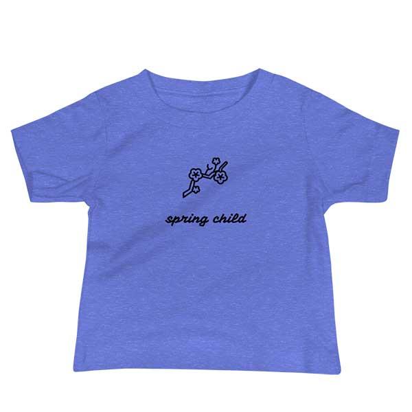 """Baby T-Shirt """"Frühlingskinde"""""""