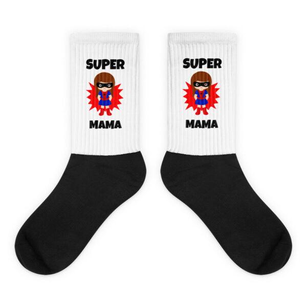 """Socken """"Super Mama"""""""