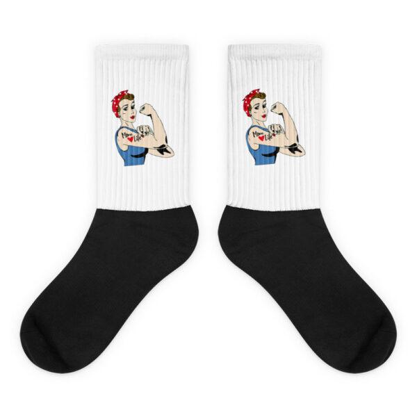 """Socken """"Mom life"""""""