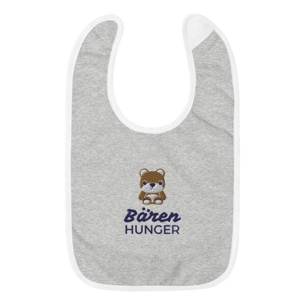 """Besticktes Lätzchen """"Bären Hunger"""""""