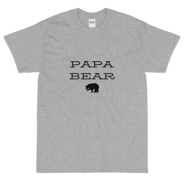 "Herren T-Shirt ""Papa bear"""