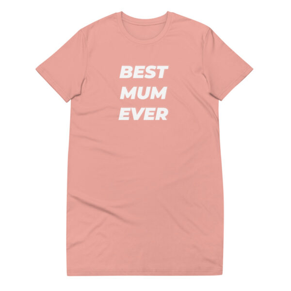 "T-Shirt-Kleid ""Best mom ever"""