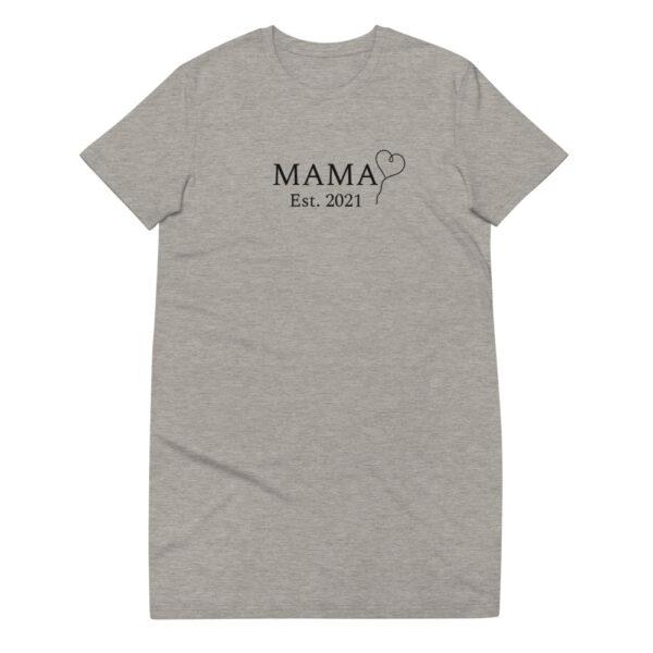 """T-Shirt-Kleid """"Mama Est. 2021"""""""