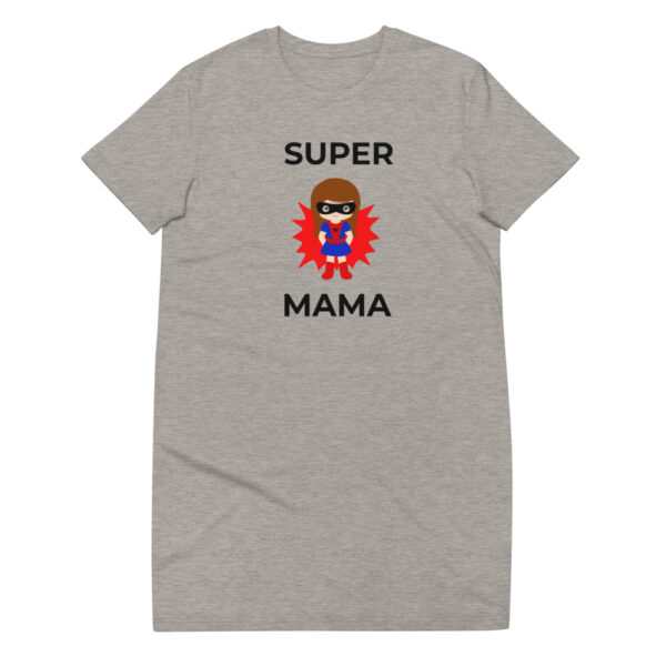 "T-Shirt-Kleid ""Super Mama"""