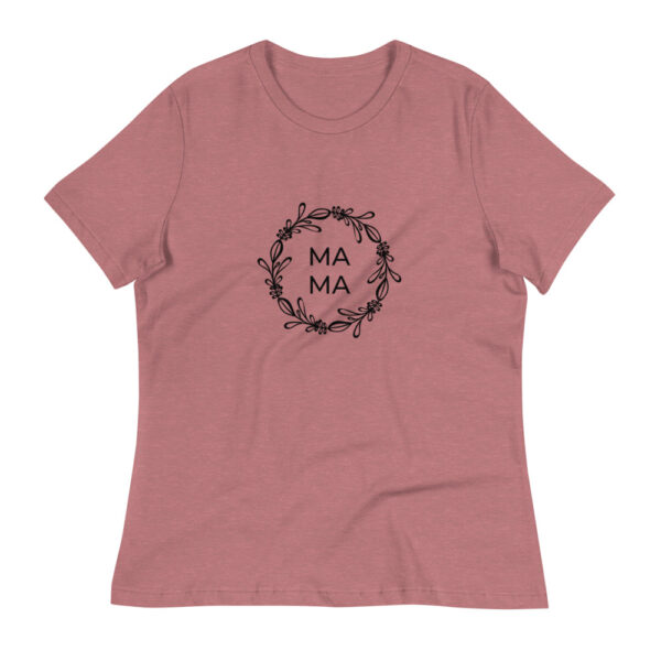 """Damen-T-Shirt """"Blumenkranz Mama"""""""