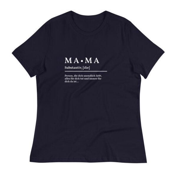 "Damen-T-Shirt ""Definition Mama"""